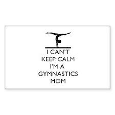 Keep Calm Gymnastics Decal