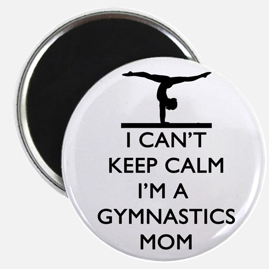 Keep Calm Gymnastics Magnets
