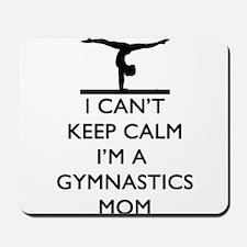 Keep Calm Gymnastics Mousepad