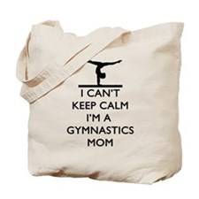 Keep Calm Gymnastics Tote Bag