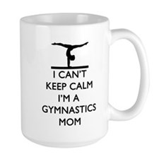 Keep Calm Gymnastics Mugs