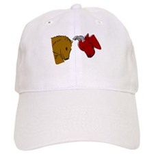 Bull And Bear Baseball Baseball Cap