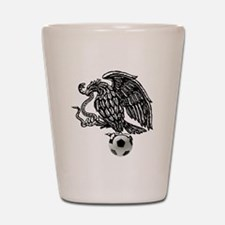 Mexican Football Eagle Shot Glass