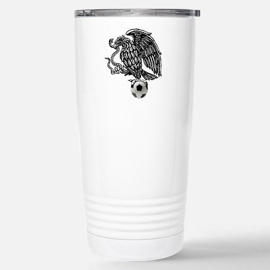 Mexican Football Eagle Travel Mug