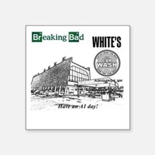 "Breaking Bad Car Wash Square Sticker 3"" x 3"""