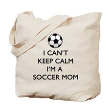 Keep Calm Soccer Mom Tote Bag