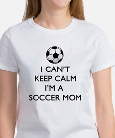 Keep Calm Soccer Mom T-Shirt
