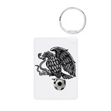 Mexican Football Eagle Keychains