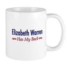 """Warren Has My Back"" Mug"