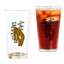Bear Market Drinking Glass