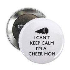 "Can't Keep Calm Cheer Mom 2.25"" Button (10 pack)"