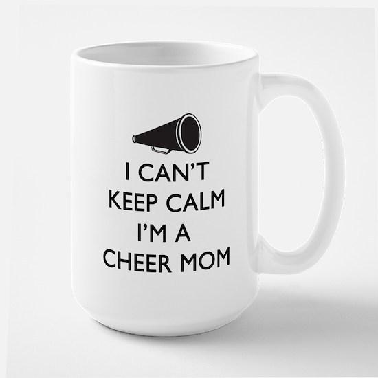 Can't Keep Calm Cheer Mom Mugs