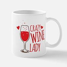 Crazy Wine Lady Mugs