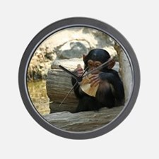 Cool Baby chimpanzee Wall Clock
