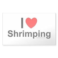 Shrimping Decal