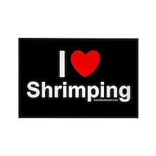 Shrimping Rectangle Magnet