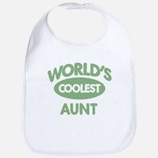 Coolest AUNT Bib