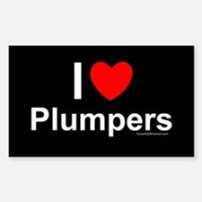Plumpers Sticker (Rectangle)