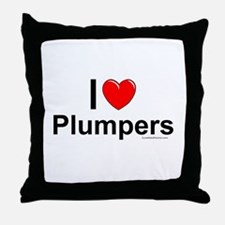 Plumpers Throw Pillow