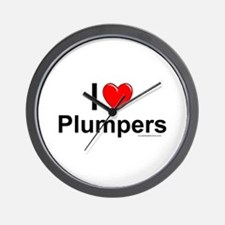 Plumpers Wall Clock