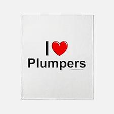 Plumpers Throw Blanket