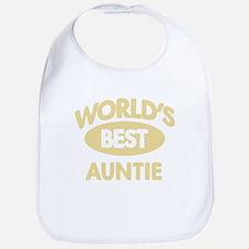 Worlds Best AUNTIE Bib