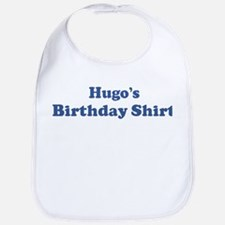 Hugo birthday shirt Bib