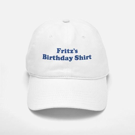 Frits birthday shirt Baseball Baseball Cap