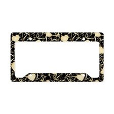 Luxurious Love License Plate Holder