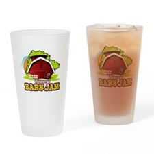 Weaver's Barn Jam FULL LOGO Drinking Glass