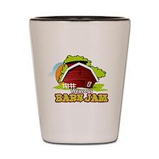 Weaver's Barn Jam FULL LOGO Shot Glass