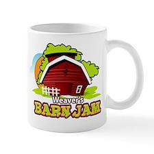 Weaver's Barn Jam FULL LOGO Mug