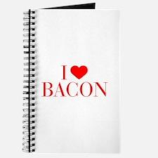 I love Bacon-Bau red 500 Journal