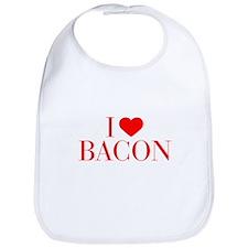 I love Bacon-Bau red 500 Bib
