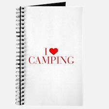 I love Camping-Bau red 500 Journal