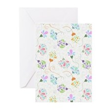 Floral Flamboyance Greeting Cards (Pk of 20)