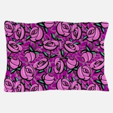 Close Roses Pillow Case