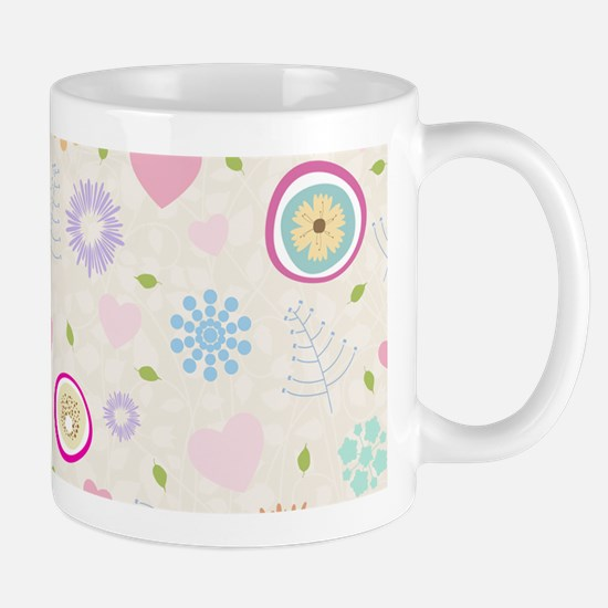 Scattered Blooms Mug