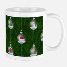 Evergreen Snowglobes Mug