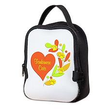 Tonkinese Heart Neoprene Lunch Bag