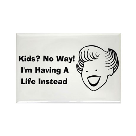 Kids No Way Rectangle Magnet (10 pack)