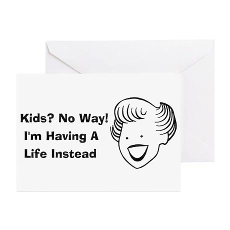 Kids No Way Greeting Cards (Pk of 20)