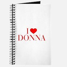 I love DONNA-Bau red 500 Journal