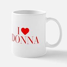 I love DONNA-Bau red 500 Mugs