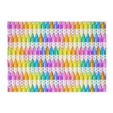 Crayon Ranks 5'x7'Area Rug