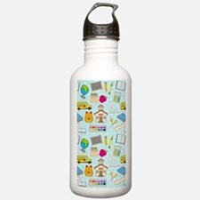 Simple Lessons Sports Water Bottle