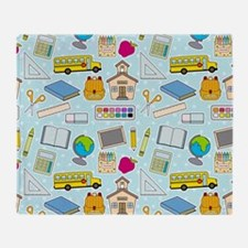 Simple Lessons Throw Blanket