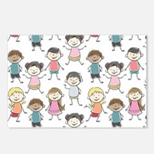 School Kids Postcards (Package of 8)