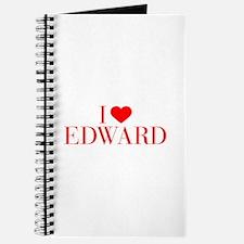 I love EDWARD-Bau red 500 Journal