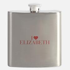 I love ELIZABETH-Bau red 500 Flask